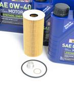 Porsche Engine Oil Change Kit (0W40) - Liqui Moly/Mahle 9A110722400KT