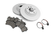 Audi VW Brake Kit - Zimmermann/Pagid 95535140151KT