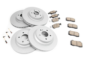 Mercedes Brake Kit - Akebono 0064203220