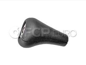 BMW Shift Knob Black Leather - Genuine BMW 25111221284