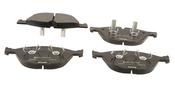 Jaguar Brake Pad Set - Textar C2D3801
