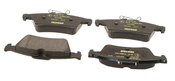 Jaguar Brake Pad Set - Textar C2P17595