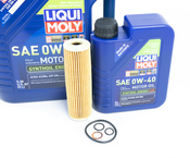 Mercedes Oil Change Kit 0W-40 - Liqui Moly 2711800509