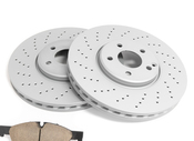 Mercedes Brake Kit - Akebono 1644202620