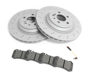 Mercedes Brake Kit - Zimmermann 2204230912