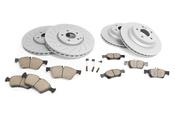 Mercedes Brake Kit - Akebono 1644202620