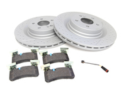 Mercedes Brake Kit - Zimmermann 2044230412