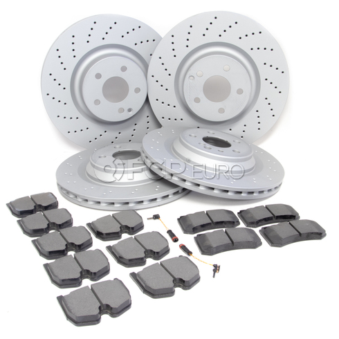 Mercedes Brake Kit - Zimmermann 2204211912
