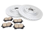 Audi VW Brake Kit - Zimmermann Sport/Akebono 4H0615601QKT