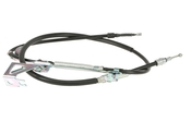 VW Parking Brake Cable Rear Left (Passat) - FTE 3B0609721AC