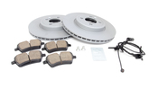 Mini Brake Kit - Zimmermann/Akebono 34116858652KTF