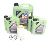 Mercedes Oil Change Kit 5W-40 - Liqui Moly Molygen 0001802609.9L.AMG