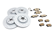 Audi VW Brake Kit - Zimmermann Sport/Akebono 4H0615601QKT2