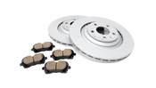 Audi Brake Kit - Zimmermann/Akebono 4F0615601BKT2