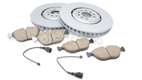 Audi VW Brake Kit - Zimmermann/Akebono 8N0615302BKT
