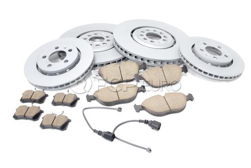 Audi VW Brake Kit - Zimmermann/Akebono 8N0615302BKT2