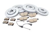 Audi VW Brake Kit - Zimmermann/Akebono 8N0615302BKT2