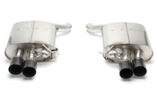 BMW Free Flow Exhaust with Black Tips (F06 F12 F13 650i) - Dinan D660-0040-BLK