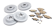 Mercedes Brake Kit - Zimmermann 2204211812