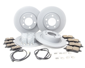 Mini Brake Kit - Zimmermann/Akebono 34119811537KTFR