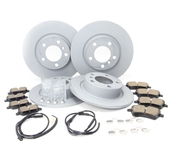 Mini Brake Kit - Zimmermann/Akebono 34119811538KTFR
