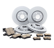 Audi Brake Kit - Zimmermann/Akebono 4D0615601BKT2