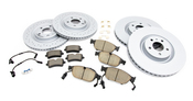 Audi VW Brake Kit - Zimmermann/Akebono 4G0615301KKT2
