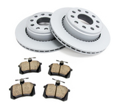Audi VW Brake Kit - Zimmermann/Akebono 857615601KT
