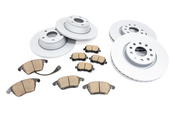 Audi Brake Kit - Zimmermann/Akebono 8J0615601KT2