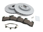 Mini Brake Kit - Zimmermann/Textar 34116855781KTF1