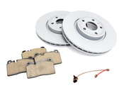 Audi VW Brake Kit - Zimmermann/Akebono 8R0615301CKT
