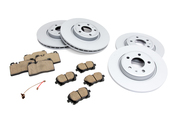 Audi VW Brake Kit - Zimmermann/Akebono 8R0615301CKT2