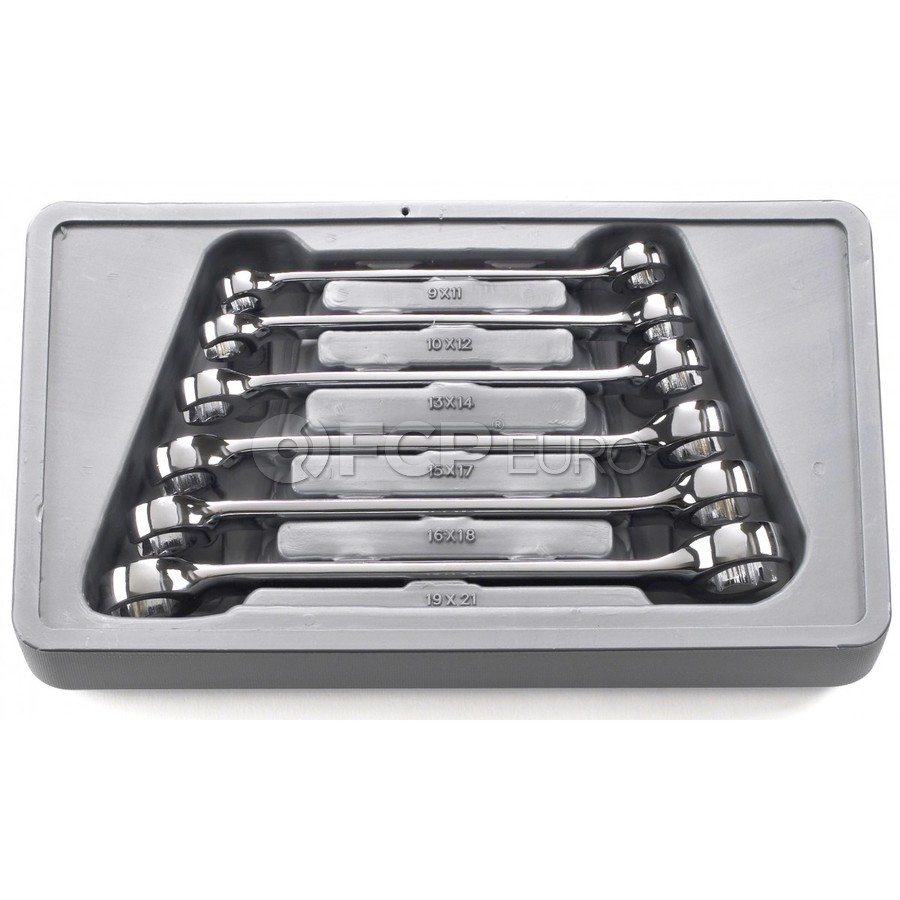 6-Piece Flare Nut Metric Wrench Set - Gearwrench 81906