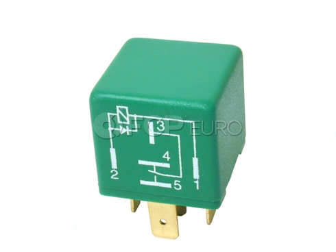 Volvo Multi Purpose Relay Green - Genuine Volvo 9494787
