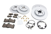 Mini Brake Kit - Zimmermann/Textar 34116855781KTFR