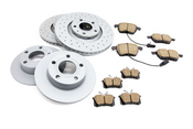 Audi VW Brake Kit - Zimmermann/Akebono 4B0615601KT2