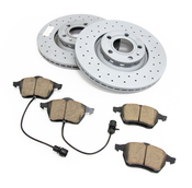 Audi VW Brake Kit - Zimmermann Sport/Akebono 8E0615301RKT2