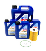 Porsche Oil Change Kit (5W40) - Liqui Moly/Mahle 99610722553KT2