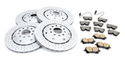 Audi Brake Kit - Zimmermann 4B3615602AKT2