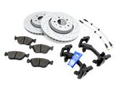 Volvo Big Brake Upgrade Kit 302MM - Zimmermann / Genuine Volvo KIT-509393