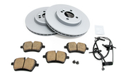 Mini Brake Kit - Zimmermann/Akebono 34116768933KTF