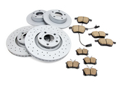 Audi VW Brake Kit - Zimmermann/Akebono 4B0615601BKT2