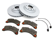 Porsche Brake Kit - Zimmermann/Textar 95535140151KT