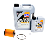 Volvo 5W30 Engine Oil Change Kit - Liqui Moly/OEM SPAOCKT