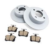 Audi VW Brake Kit - Zimmermann/Akebono 443615601KT