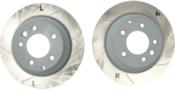Audi VW Porsche Brake Disc Set - Sebro 909354C