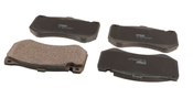 Mercedes Disc Brake Pad Set - TRW 0064200720