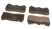 Mercedes Disc Brake Pad Set - TRW 0074207220
