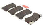 Audi VW Brake Pad Set - TRW 4G0698151AB