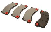 Porsche Brake Pad Set - TRW 95835193930